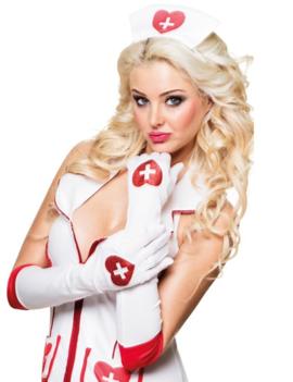 Handschoenen Verpleegster | Lang