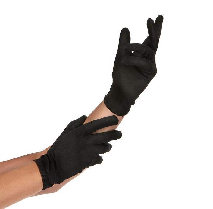 Handschoenen Zwart | Kort