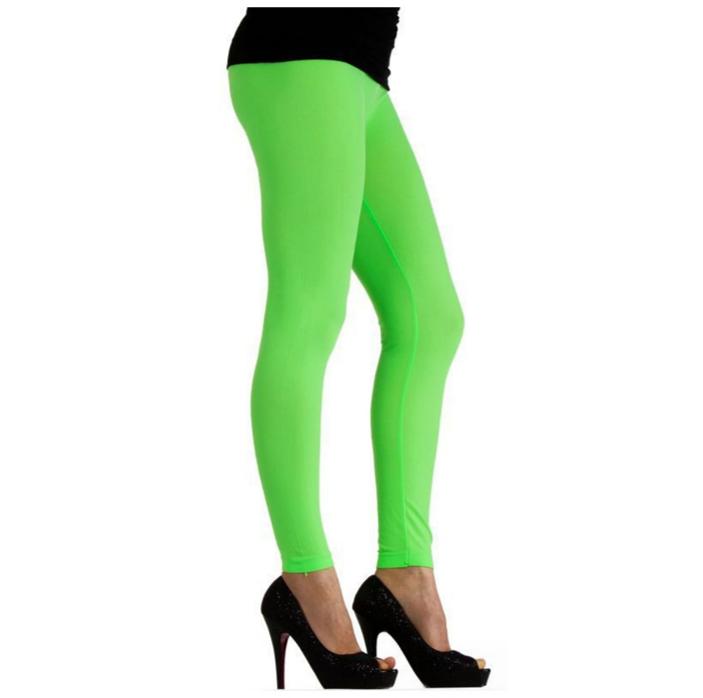 Legging Neon Groen |Fluo | One Size