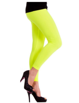 Legging Neon Geel |Fluo | One Size