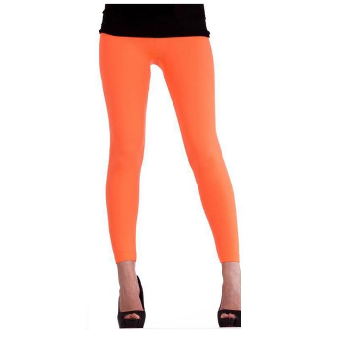 Legging Neon Oranje |Fluo | One Size