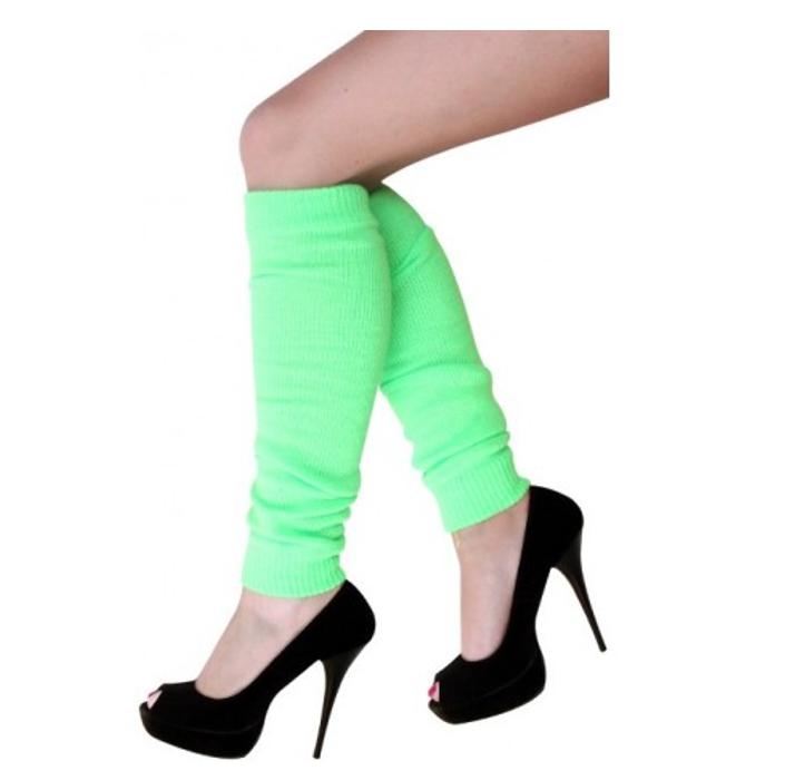 Beenwarmers Fluo Groen | One Size