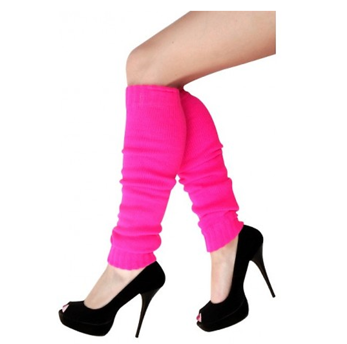 Beenwarmers Fluo Roze | One Size