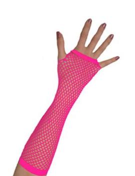 Vingerloze Handschoenen | Neon Roze | Nethandschoenen