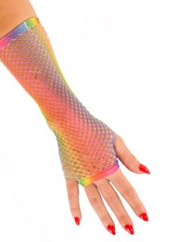 Vingerloze Handschoenen | Multicolor | Nethandschoenen