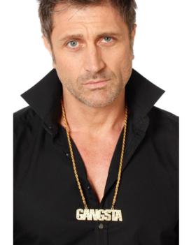 Ketting Gangsta | Goud | Patser