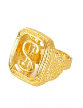 Ring Dollar | Goud