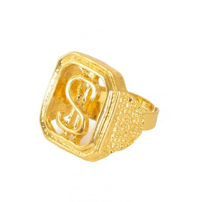 Ring Dollar   Goud