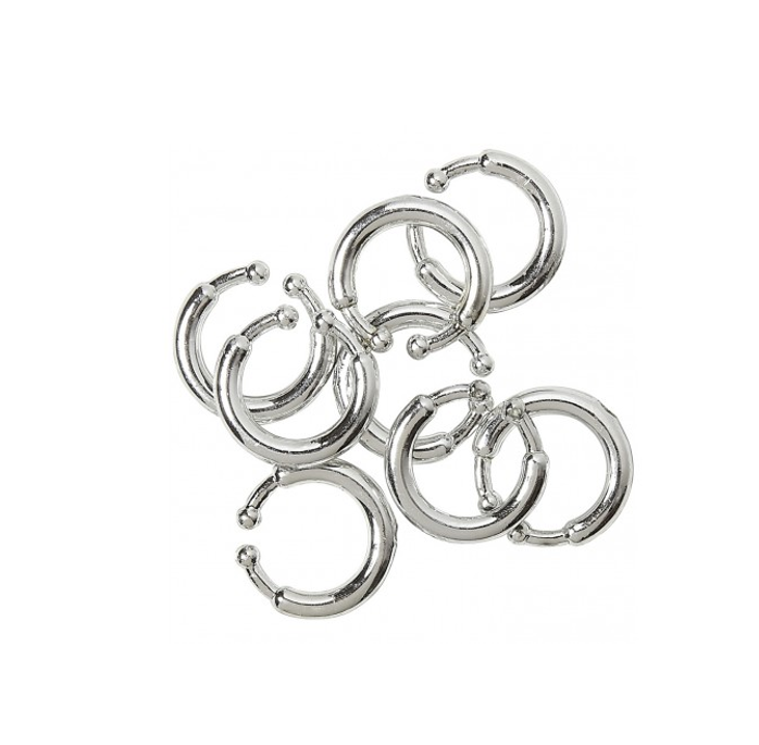 Mini Piercings Zilver | 8 Stuks