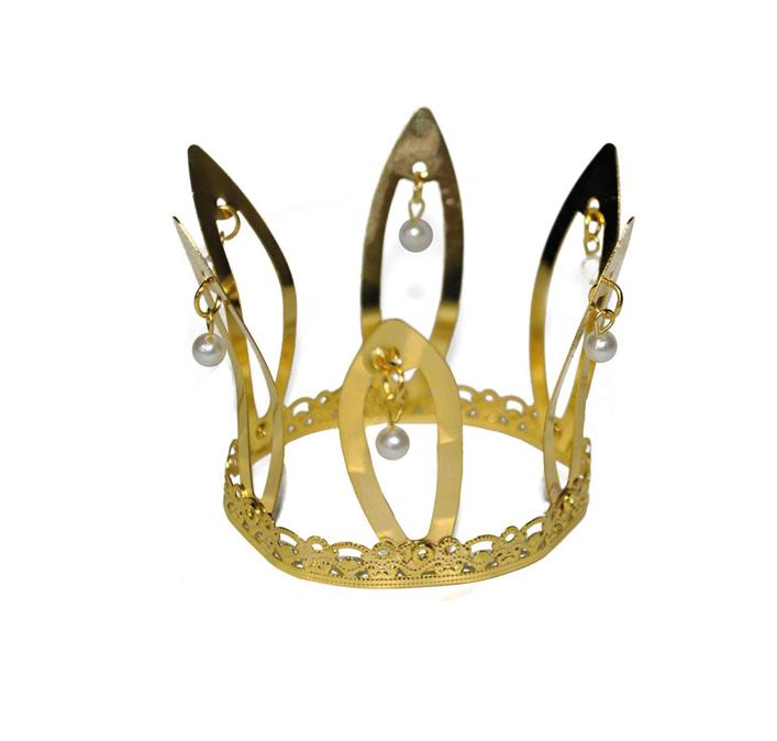 Mini Kroontje Prinses | Met Pareltjes