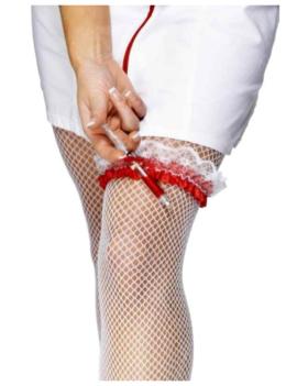 Kousenband Met Spuit | Verpleegster