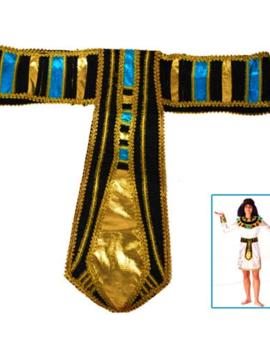 Egyptische Riem | Farao | Blauw/Goud