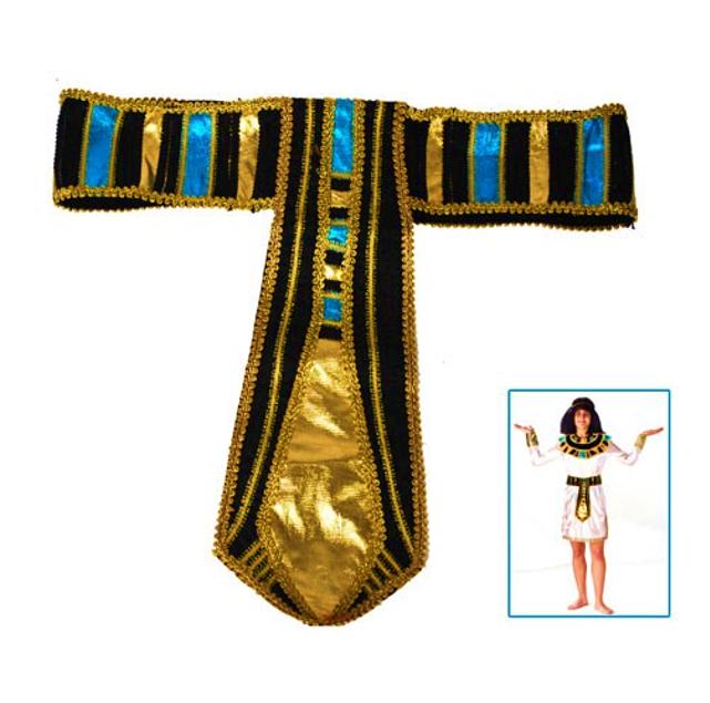 Egyptische Riem   Farao   Blauw/Goud