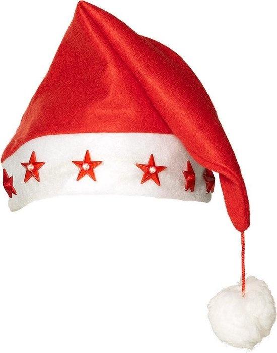 Kerstmuts Met Knipperlichtjes