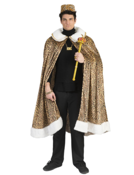 African King Cape | Luipaard Print | One Size