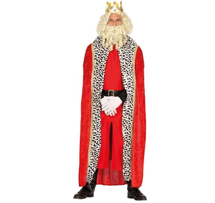 Koning/ King Cape | Rood 120cm