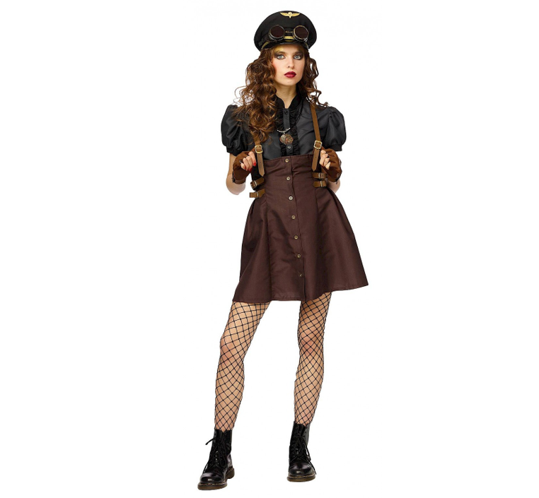 Steampunk Girl   Piloot
