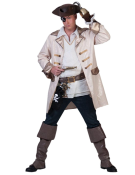 Piraat Jack Kostuum | Kapitein Heren