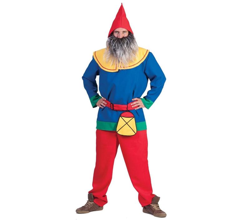 Dwarf/ Kabouterkostuum | Heren