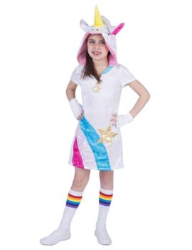 Rainbow Unicorn/ eenhoorn  Kleedje | Kids