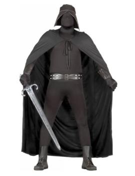 Zwarte Strijder Kostuum | Heren