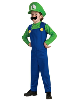 Luigi Kostuum | Super Mario Kinderkostuum