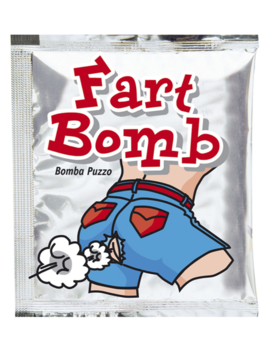 Fart Bomb Zakje | Stinkbom | Fop