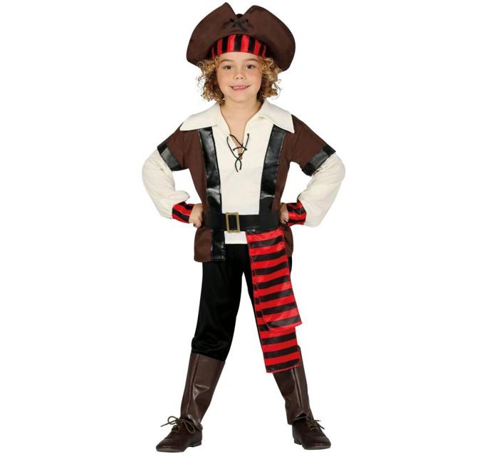 Piratenkostuum Jake    Kinderkostuum