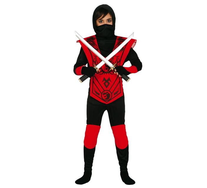Rode Ninja | Kinderkostuum