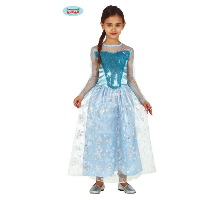 Sneeuwprinses / Frozen | Kinderkostuum