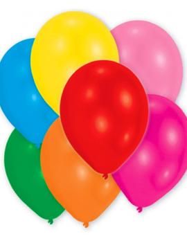 Ballonnen Multicolor Mix 25 Stuks