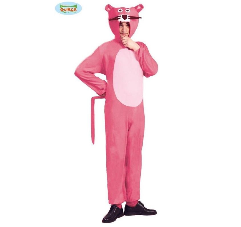 Pink Panther Kostuum | Herenkostuum