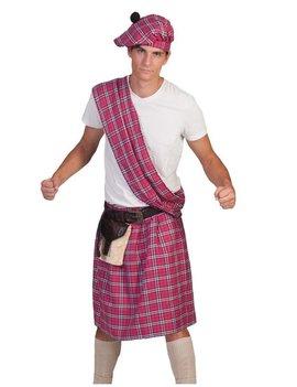 Highlander Schot/ Roze | Herenkostuum