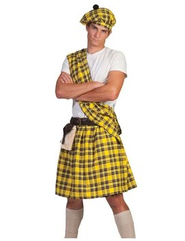 Highlander Schot/ Geel | Herenkostuum
