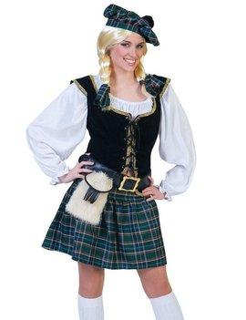 Schotse Dame/ Schotlander| Dameskostuum