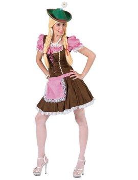 Tiroler Rosa Meisje | Dameskostuum