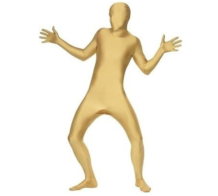 Morphsuit/ Second Skin | Goud | Verkleedpak