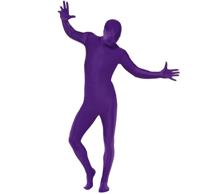 Morphsuit/ Second Skin | Paars | Verkleedpak