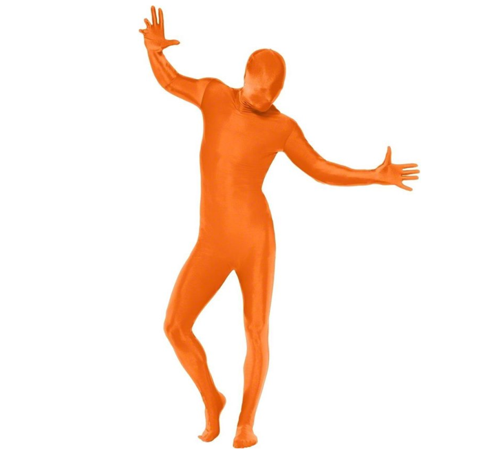 Morphsuit/ Second Skin | Oranje | Verkleedpak