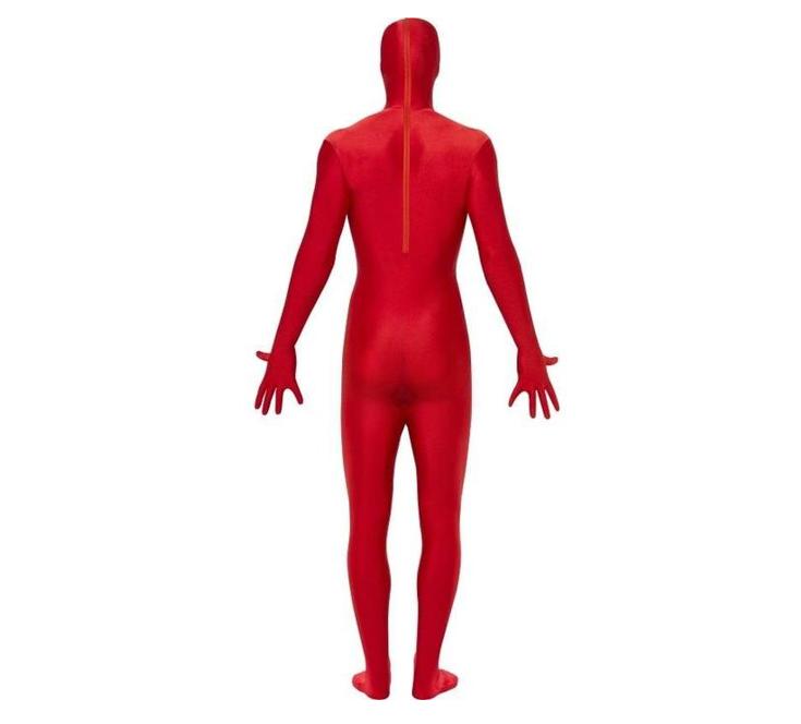 Morphsuit/ Second Skin | Rood | Verkleedpak