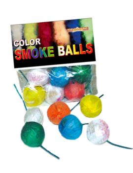 Mini Rookballetjes | Smoke Balls | 6 Stuks