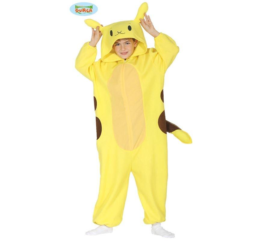 Pikachu Onesie   Kinderkostuum