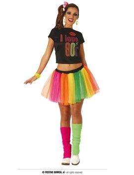 I Love 80's Verkleedkostuum | Dameskostuum
