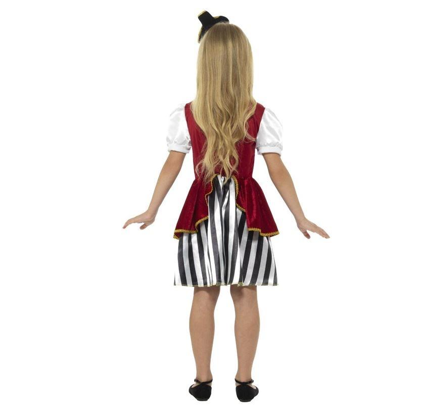 Deluxe Piratenmeisje   Kinderkostuum