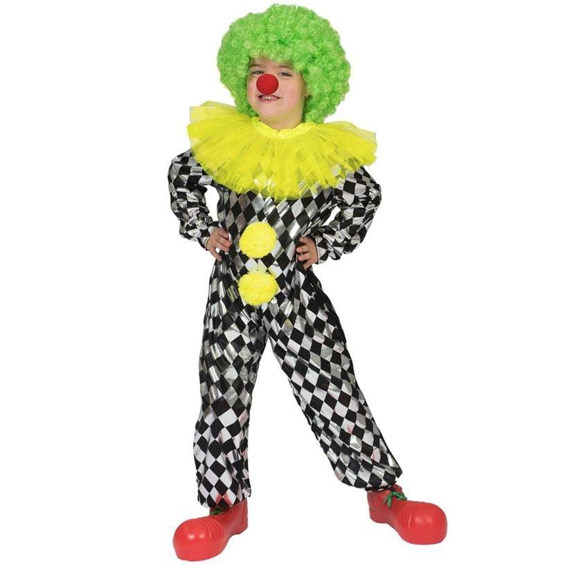 Clown Pepino Jumpsuit   Kinderkostuum