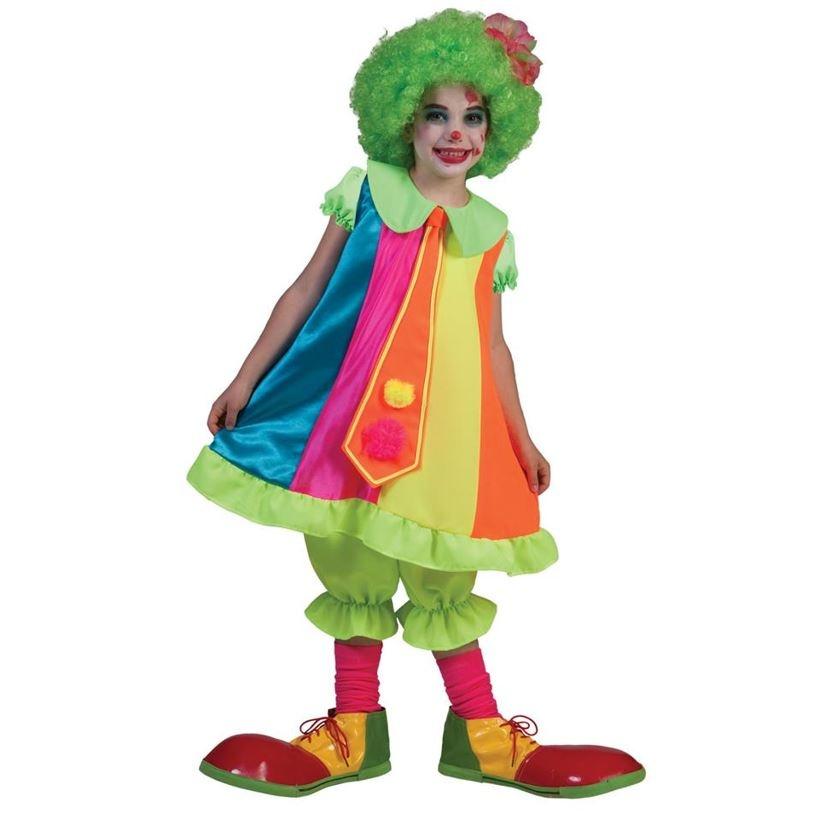 Clown Silly Billy Meisje   Kinderkostuum