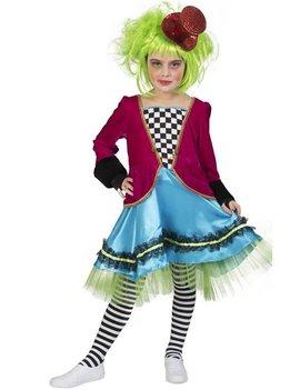 Wicked Mad Hatter  Meisje | Kinderkostuum
