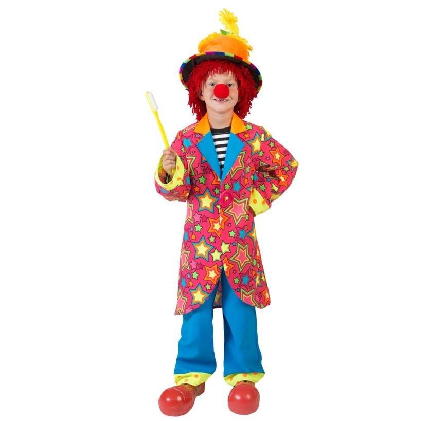 Sparkling Clown Jongen   Kinderkostuum