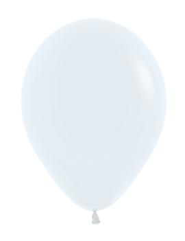 Wit | Ballonnen 12 Stuks