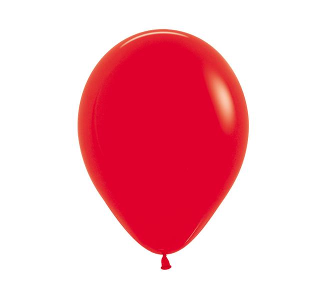 Rood |  Ballonnen 12 Stuks